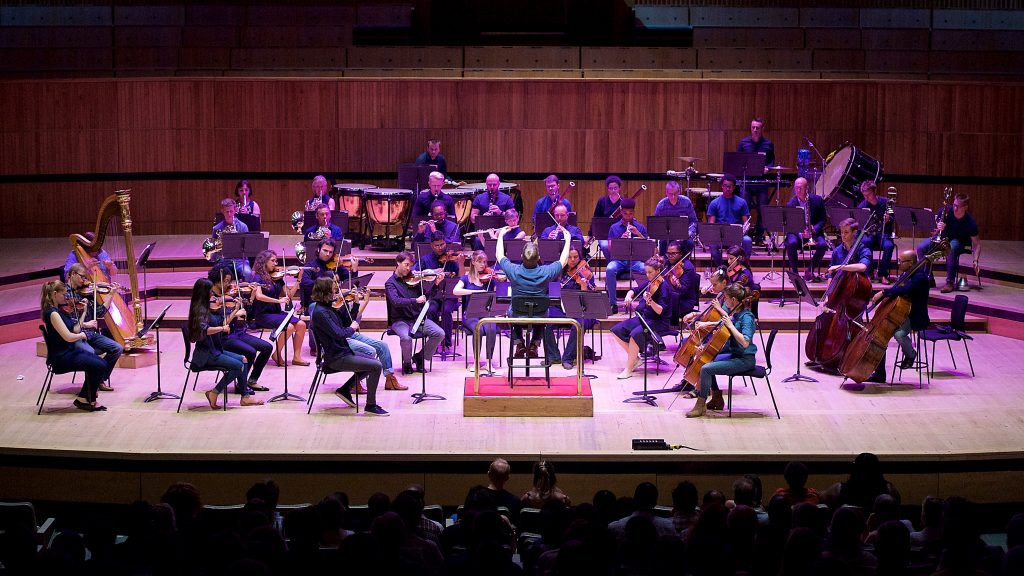 New Music Biennial 2017 supported by the PRS For Music Foundation at The Southbank Centre, London, Great Britain 8th July 2017 Day 2 Errollyn Wallen : Mighty River featuring Orchestra X Photograph by Elliott Franks Image licensed to Elliott Franks Photography Services